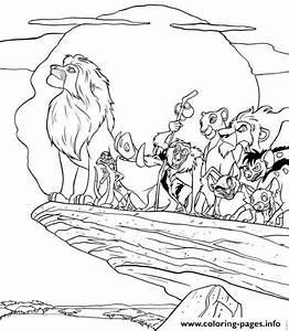 All Lion King Characters 11d8 Coloring Pages Printable
