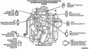 Diagram Of Engine And All The Sensors