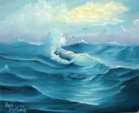 Ocean Seascapes Oil Paintings