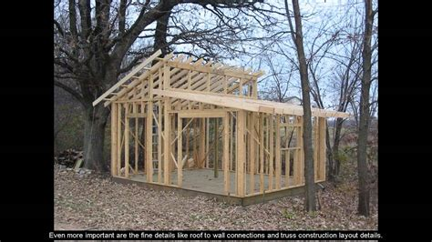 shed plans 16x20 5 sided shed plans
