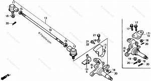 Honda Atv 1986 Oem Parts Diagram For Knuckle