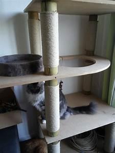 Arbre A Chat Solide : construction de mon arbre chat 3 3 chats and co ~ Mglfilm.com Idées de Décoration