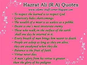Sayings of Imam Hazrat Ali, Islamic Quotes in English ...