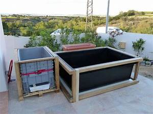 Bassin De Terrasse : bassin hors sol de terrasse de patrice b jardin ~ Premium-room.com Idées de Décoration