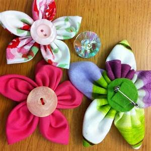 How To Make Handmade Fabric Flowers | www.imgkid.com - The ...