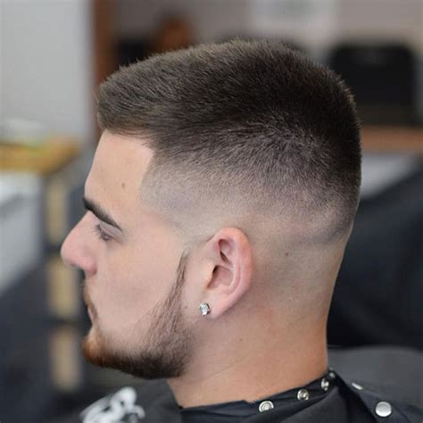 crew cut haircuts  men  guide