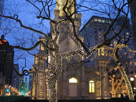 chicago christmas wallpaper gallery