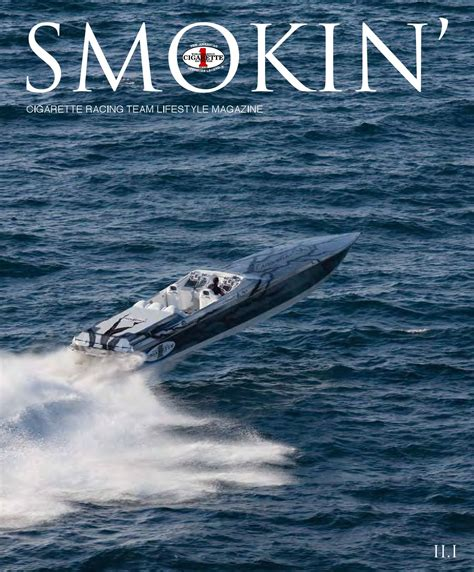 Cigarette Boat Magazine by Smokin Magazine Cigarette Racing Team By Rock Llc