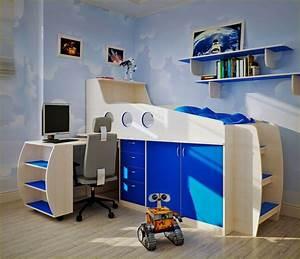 Coole Jugendzimmer Mit Hochbett : jugendzimmer gestalten 31 coole design ideen f r jungs ~ Bigdaddyawards.com Haus und Dekorationen