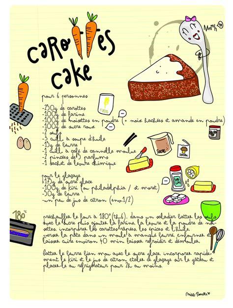 carotte cuisine recette carotte cake food illustration
