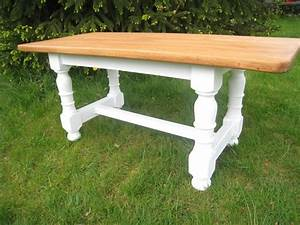 une nouvelle table patines couleurs With peindre table en bois