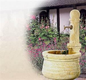 Antike natursteinbrunnen fur den garten historische for Französischer balkon mit brunnen im garten kosten