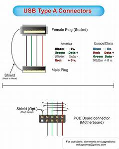 4 Pin Usb Wiring Diagram