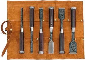 Ciseaux à Bois Japonais : trousse 6 ciseaux bois japonais tasa mokume nomi ~ Melissatoandfro.com Idées de Décoration