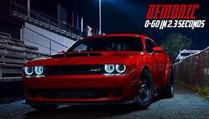 2018 Dodge Challenger Demon, the World's Fastest 0-60 MPH ...