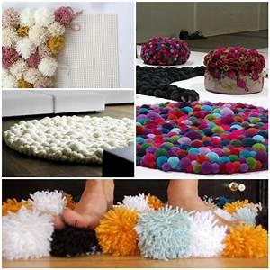 DIY Wohnideen - Teppich oder Fußmatte selbst basteln