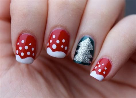 Nail Art Winter : 30 Beautiful Eamples Of Winter Nail Art