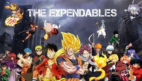 Anime Mix Wallpaper - crossover hd wallpaper background image 1920x1103 id