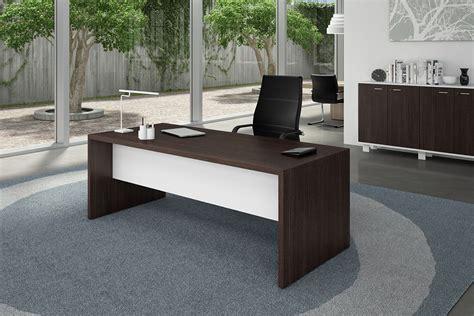 scrivania wenge affordable tdesk scrivania per ufficio laminato weng e