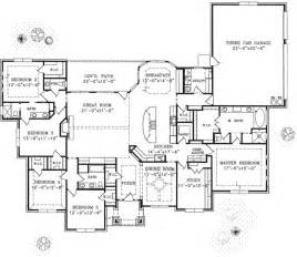 floor plans for 1 story homes 1 story home floor plan custom home building remodeling