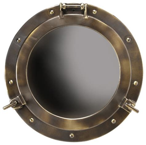 ship porthole medicine cabinet inviting home inc porthole mirror large wall mirrors