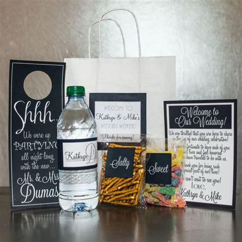 Wedding Welcome Bag Overview This Listing Is For A