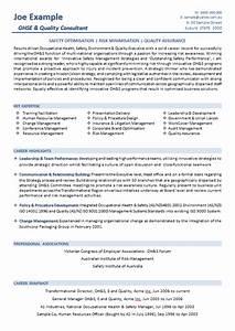 resume templates australian resume resume samples With australian resume format