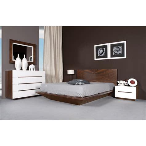 chambre 224 coucher design pour adulte en merisier ou ch 234 ne