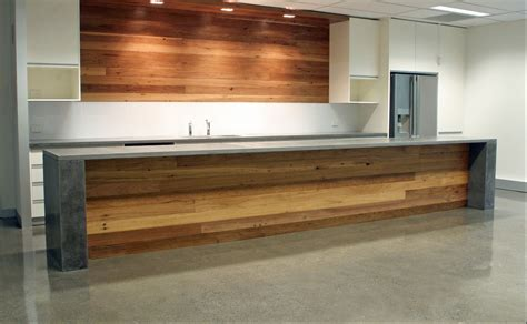 kitchen island benches kitchen island bench formed polished concrete top or stone and timber front to match