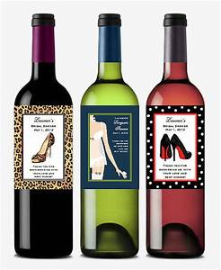 personalized bridal shower wine bottle labels theme favors With customized wine bottle labels free