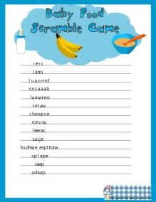 Disney Baby Shower Ideas by Free Printable Baby Shower Games With Answers Girls