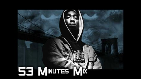 2pac 53 Minutes Mix (best Of 2pac) By Dj Mrock Youtube