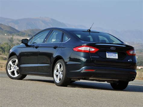 ford fusion review  quick spin autobytelcom