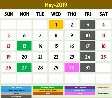 excel calendar template excel calendar    year
