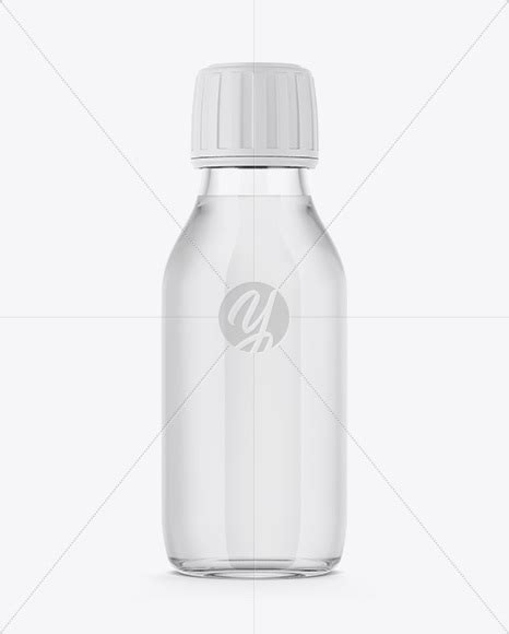 How to make perspective mockups in photoshop. 60ml Clear Glass Bottle Mockup in Bottle Mockups on Yellow ...