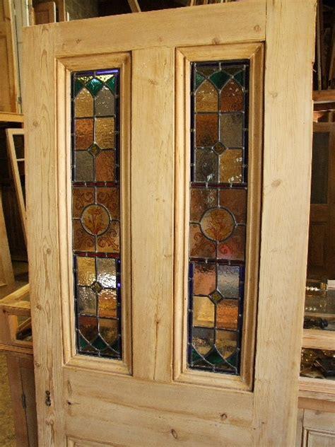 glass panel front door antique stained glass front door with handpainted glass
