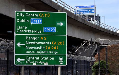 Redundant Road Sign, Belfast © Albert Bridge  Geograph. Beach Restaurant Signs Of Stroke. Hypoxemia Signs. Mca Stroke Signs. Family Reunion Signs
