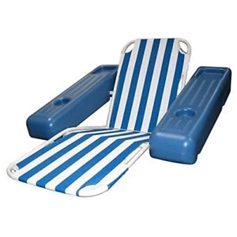poolmaster caribbean floating lounge blue os ebay