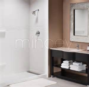 Mincey Marble Shower Base by Mincey Marble Cast Marble Bath Products For The