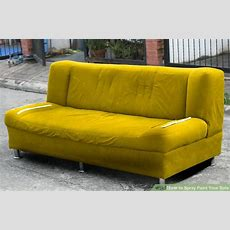How To Spray Paint Your Sofa 14 Steps (with Pictures
