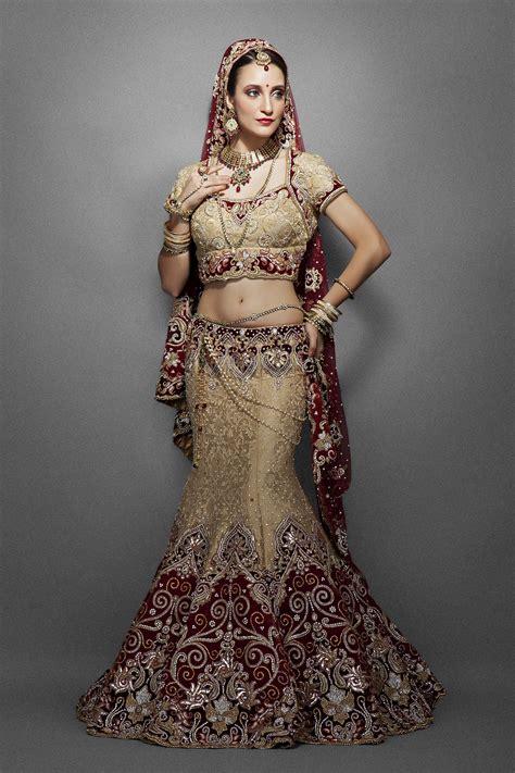 falling  love  indian wedding dresses