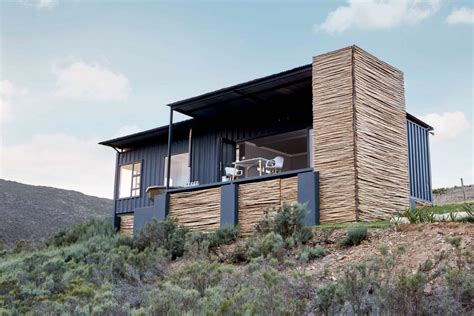 Modified Containers South Africa by Shipping Container Home Rental Has Sweet Valley Views Curbed