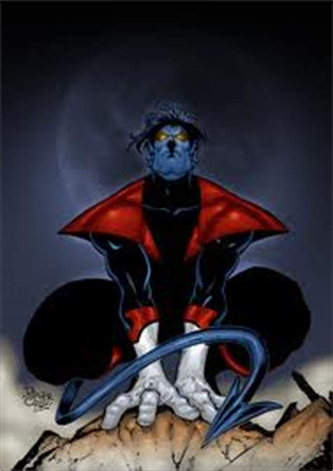 nightcrawler kurt wagner  men comics photo