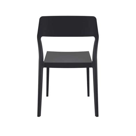 Chaise D'extérieur Empilable Design En Polypropylène