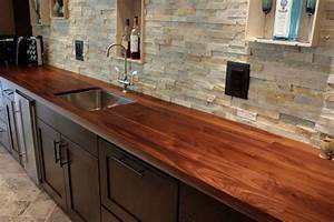 Walnut, A Favorite Choice For Kitchen Countertops - J Aaron
