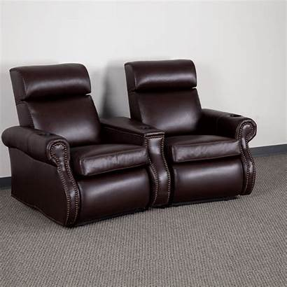Theater Arm Leather Seating Wedge Rest Bizchair