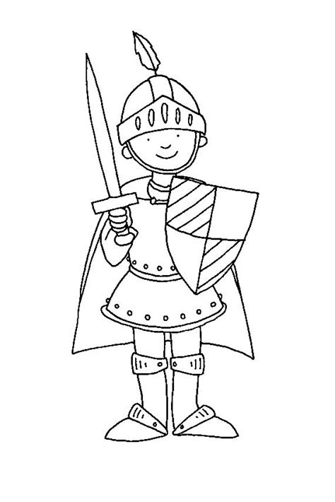 55 best Knight Coloring Pages images on Pinterest | Knight