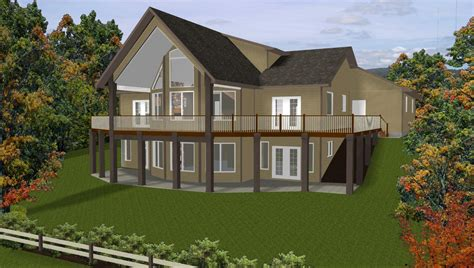 home plans for sloping lots hillside home plans with basement sloping lot house slope