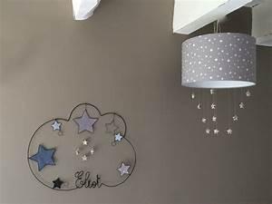 Abat Jour Chambre : abat jour suspension pour decoration de inspirations avec chambre bebe etoile photo ~ Teatrodelosmanantiales.com Idées de Décoration