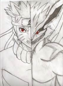 Naruto Nine Tails Drawing